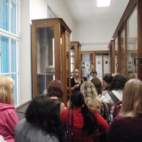 Hrdličkovo antropologické muzeum nabídlo mnoho zajímavých informací z oblasti evoluce člověka, z etnické antropologie, patologie kosterních pozůstatků a mnoha jiných. Velmi velkého zájmu se dočkala prohlídka několika mumií ze starého Egypta.